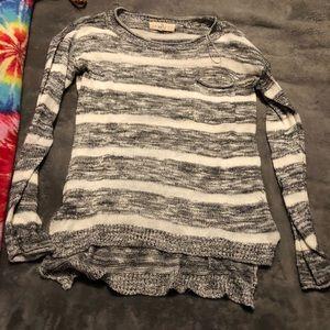 Pink republic long sleeve sweater